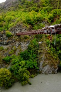World's First Bungy Jump