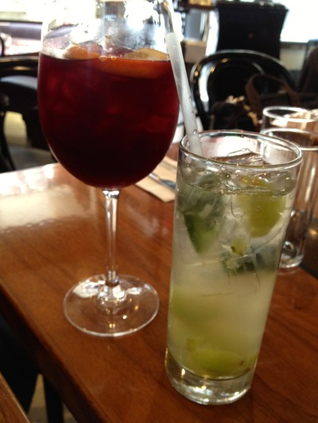 Red Sangria & Lily