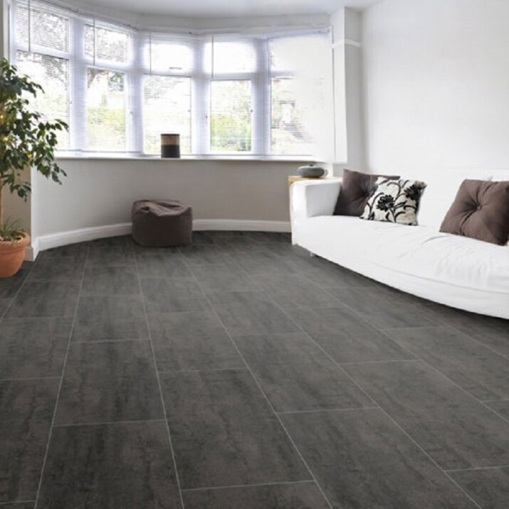 imitation carrelage gris antracite