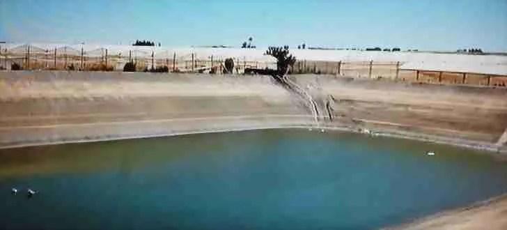 Spazi Confinati in Agricoltura - invaso per l'irrigazione
