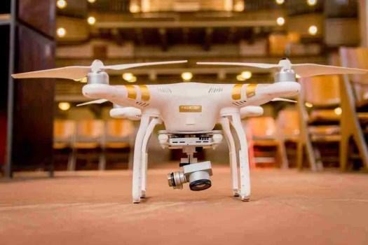 videoispezioni con drone in cantiere - video ispezioni indoor