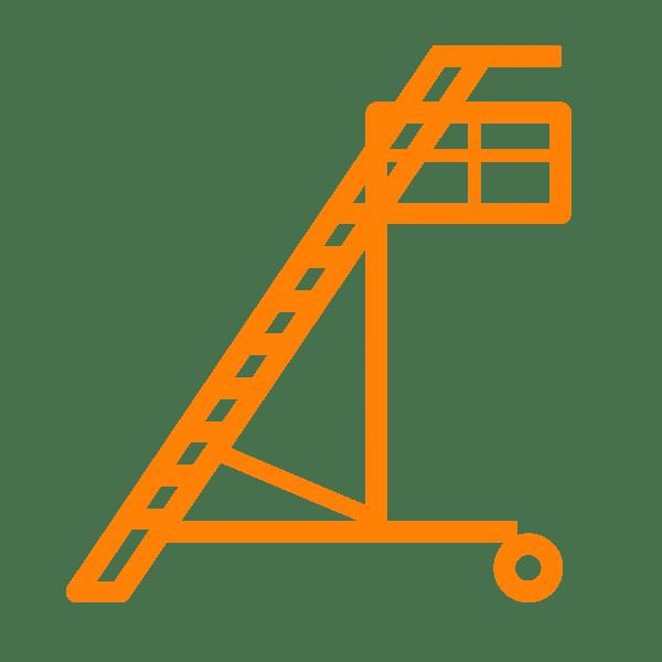 anticaduta baie di carico scale speciali
