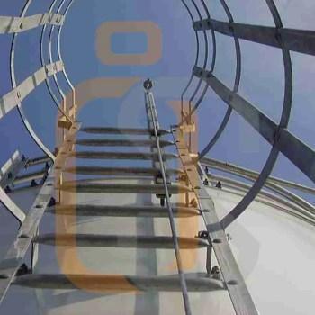 anticaduta verticale scale
