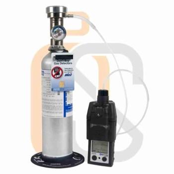 spazi confinati - bump test calibrazione rilevatore di gas