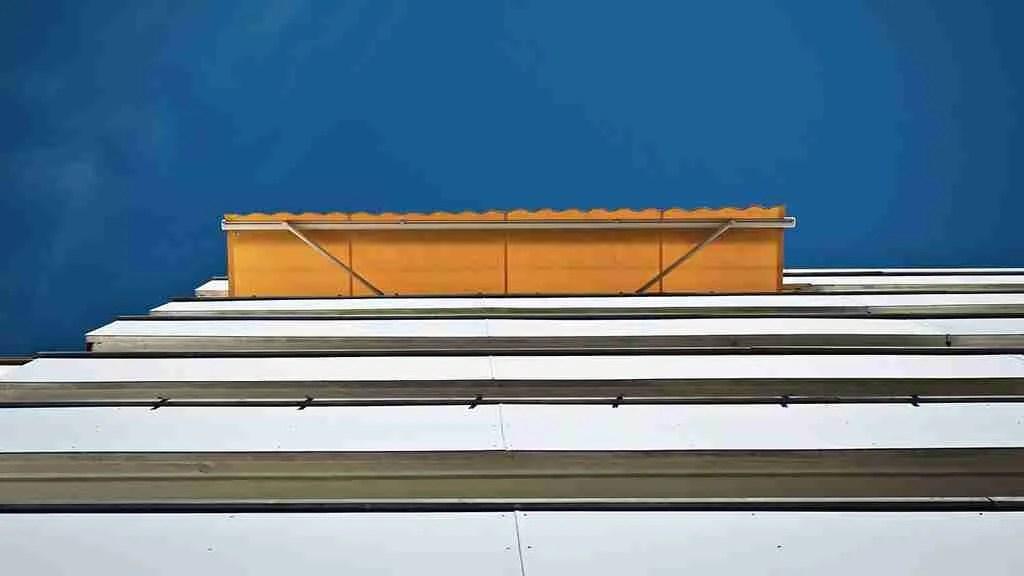anticaduta per finestre e balconi - tenda che sporge