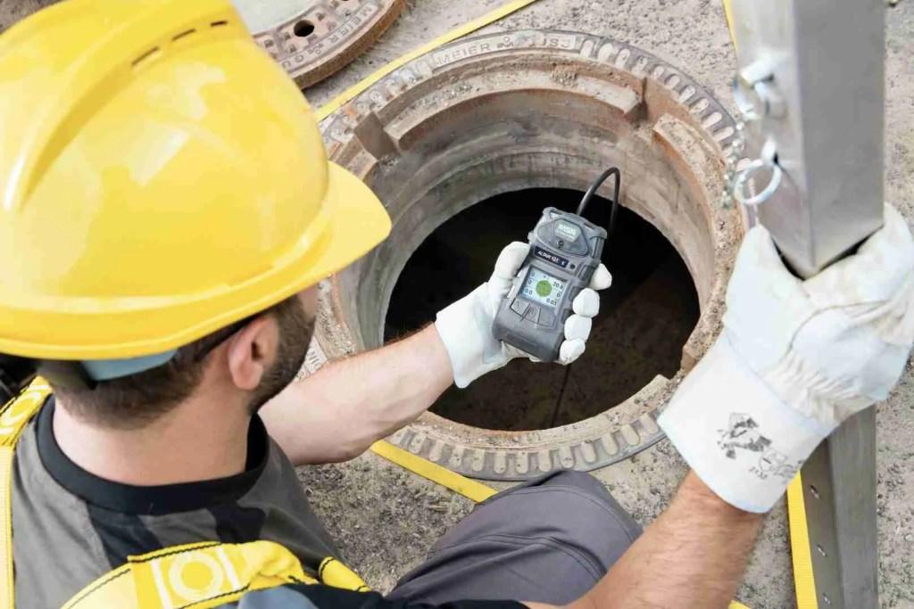 rilevatore di gas portatile - con pompa