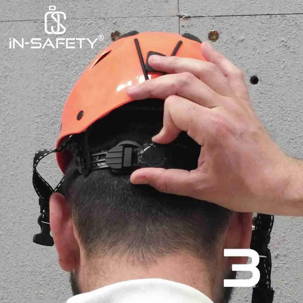 come indossare un'imbracatura - indossare casco 3