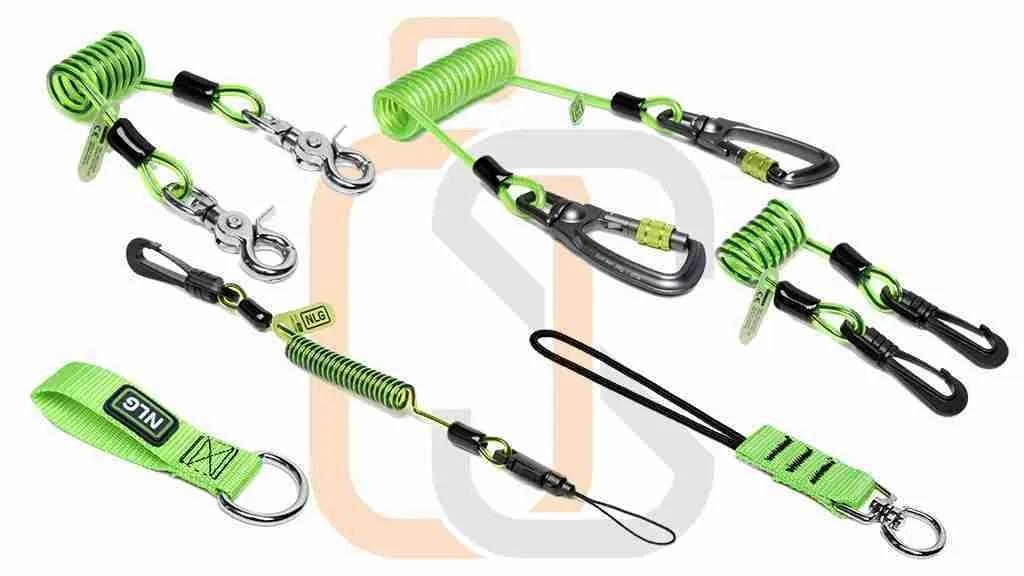 caduta oggetti - speciali lacci o guinzagli per attrezzi