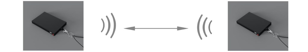 SafeTag per distanziamento con rilevamento della posizione