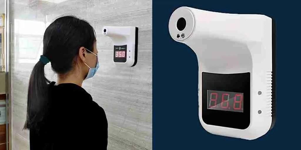 termometro a infrarossi automatico per il rilevamento della temperatura