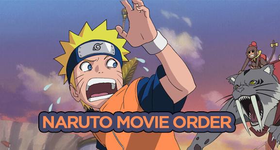 Naruto in Order