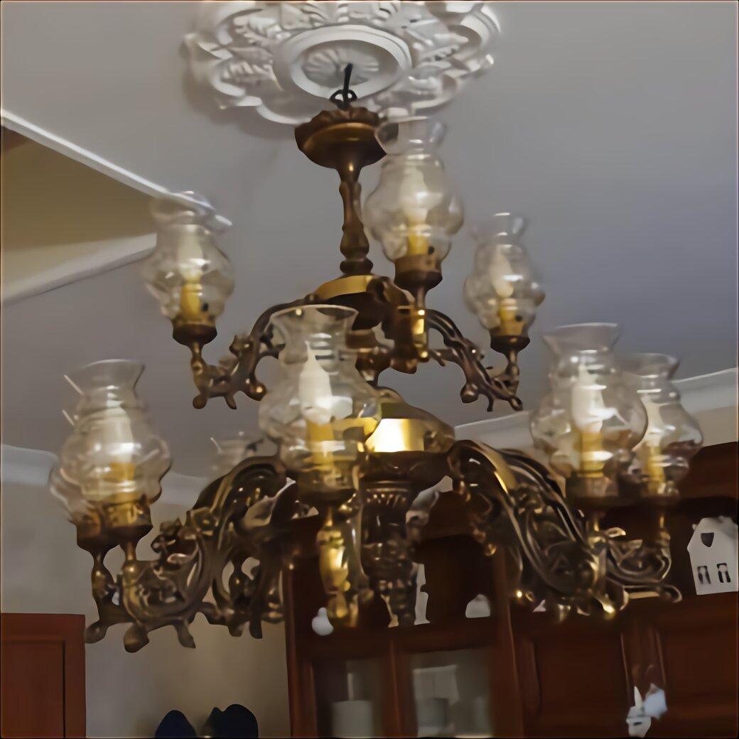 Lampadario in bronzo 8 bracci con bocce in vetro, anni '60: Vetri Lampadari Ricambi Napoli Usato In Italia Vedi Tutte I 12 Prezzi