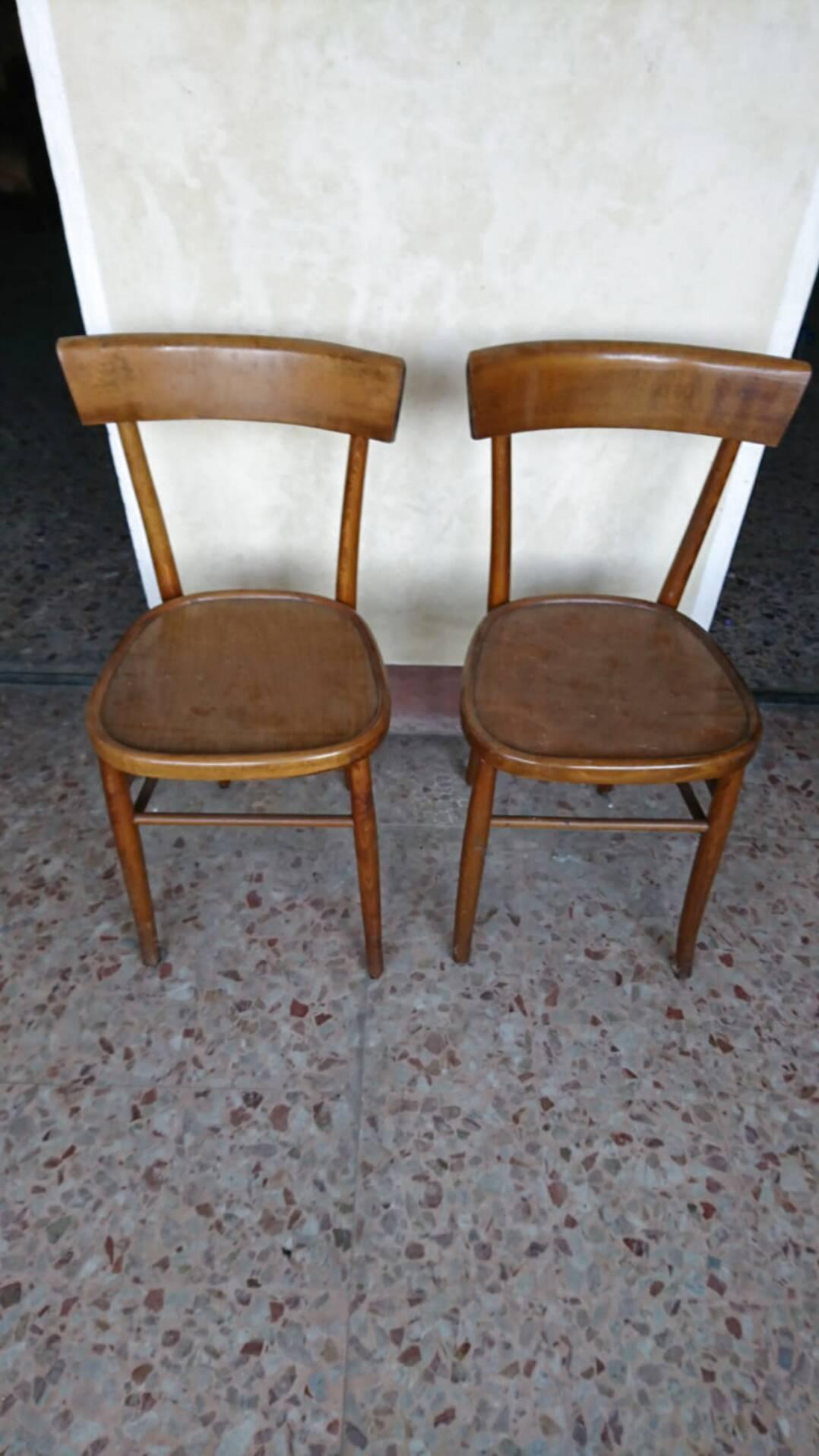 Poltroncina da ufficio in pelle nera e braccioli in legno moderna. Sedie Anni 50 Usato In Italia Vedi Tutte I 60 Prezzi