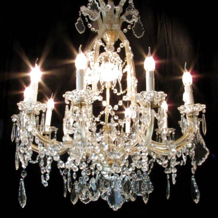 A gocce di cristallo di boemia dimensioni h x l 100 x 40 cm lampadario a un punto luce con lampadina led. Lampadario Boemia Usato In Italia Vedi Tutte I 89 Prezzi