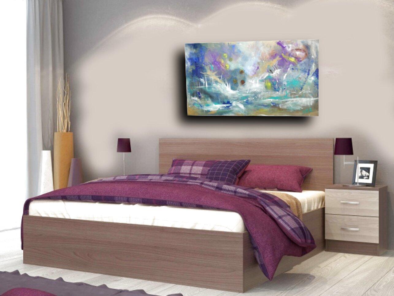 quadri religiosi per camera da letto: Quadri Moderni Camera Letto Usato In Italia Vedi Tutte I 44 Prezzi