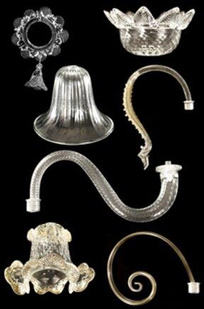 Lampadario completo e pezzi di ricambio in vetro vintage. Depresiya Mnozinstvo Lajna Accessori Per Lampadari Antichi Amazon Anbinhtannhatrang Com