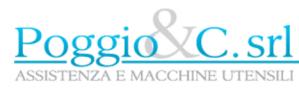 Poggio macchine utensili logo