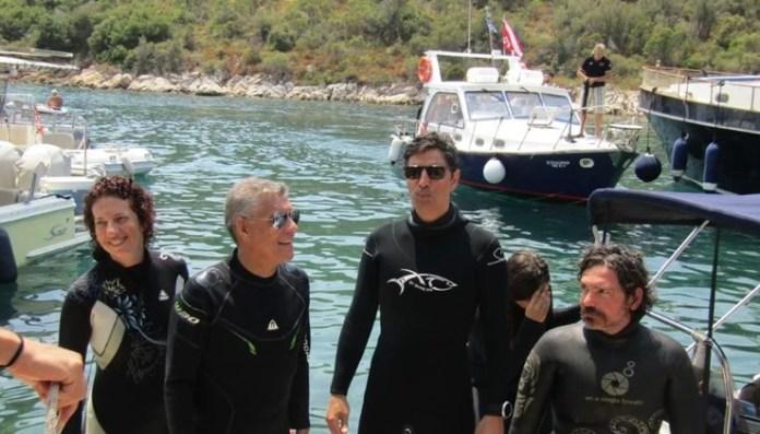 Λαμπερά εγκαίνια για το πρώτο υποβρύχιο μουσείο στην Ελλάδα [εικόνες & βίντεο]