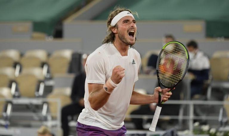 Ο Τσιτσιπάς πέρασε στον τελικό του Roland Garros