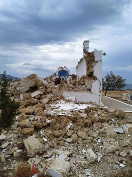 6,3 Ρίχτερ στην Κρήτη – Ζημιές σε κτίρια και υποδομές