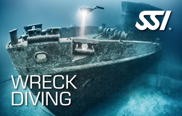 Wrak Duiken Wreck Diving SSI specialty