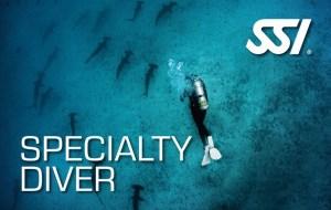 specialty diver SSI specialty voordeel pakket