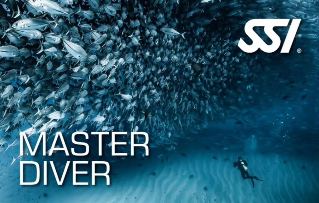 Master Diver brevet SSI
