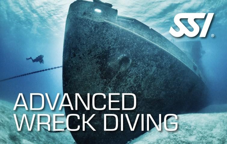 Advanced Wreck DIving SSI  specialty wrak duiken gevorderden