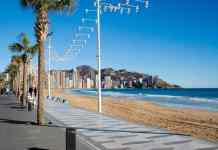 best beach in benidorm