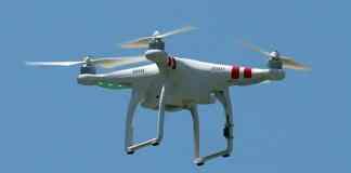 police drones in benidorm