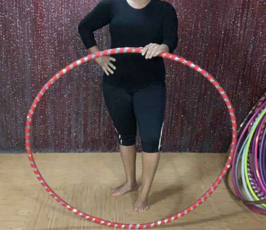 weight loss with hula hooping