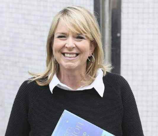 why fern britton quit this morning