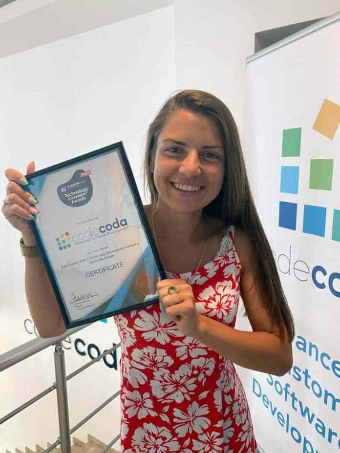 Renowned Codecoda Won The 2020 Technology Innovator Awards