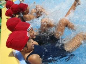 (夏)プール遊び