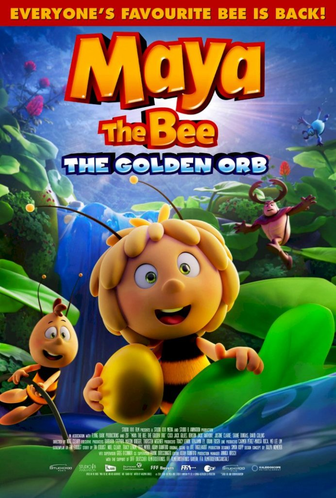 DOWNLOAD: Maya the Bee 3- The Golden Orb (2021)
