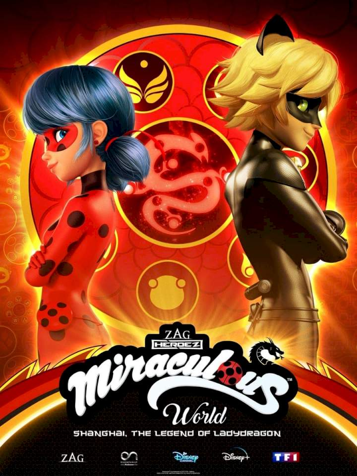 Miraculous World: Shanghai - The Legend of Ladydragon MOVIE POSTER