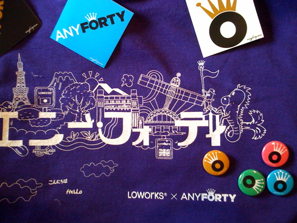 LOWORKS x ANY FORTY