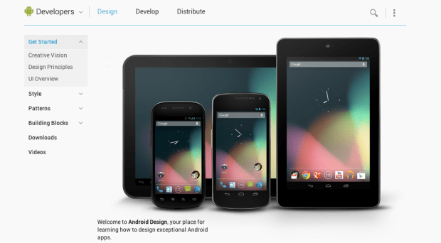 android design guideline