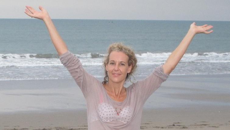 Celia Gregory - Eco artist & founder of The Marine Foundation.