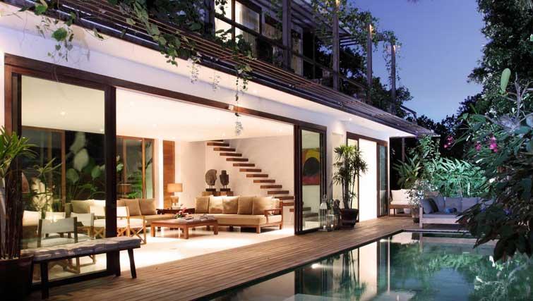 boutique villa for rent seminyak