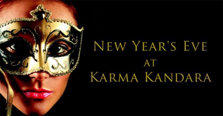 Karma Kandara NYE 2014 poster