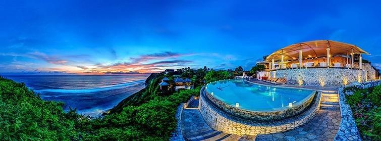 Karma Kandara Resort hill-top views