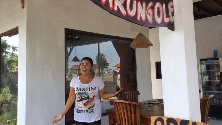Iluh owner Warung Ole