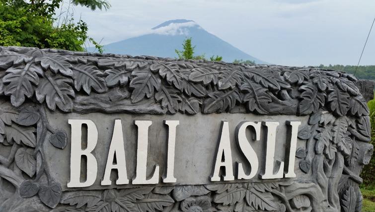 Restaurant Bali Asli near Amlapura.