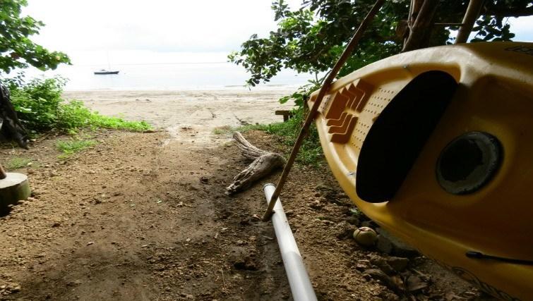 Beach Bale at Bali Eco Beach House