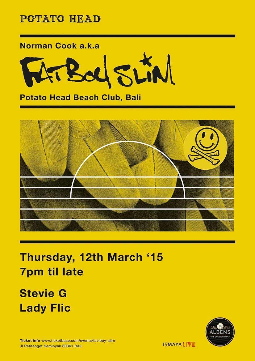 Fat Boy Slim Bali Poster