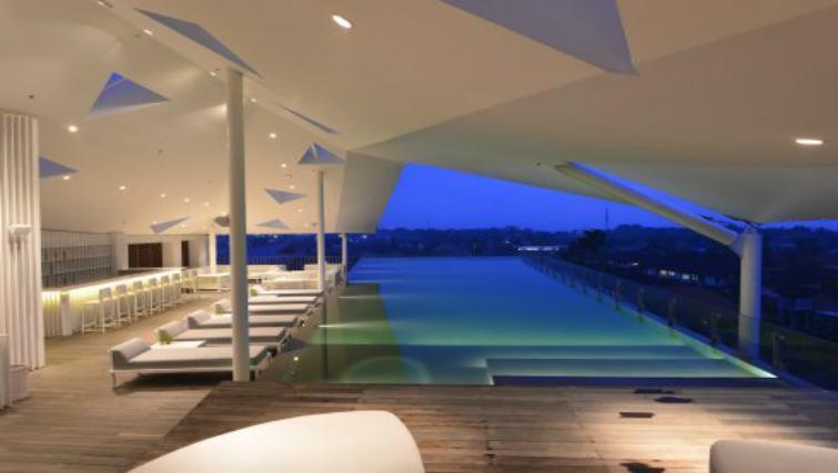 Rooftop pool at Ize Seminyak