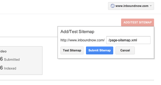 how to submit your wordpress xml sitemap to google webmaster tools
