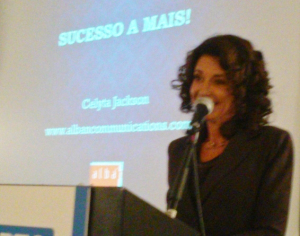 Brazil expert Celyta Jackson, who presented last year, will be back this year.