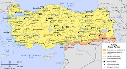 Turkey Travel Advice